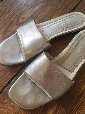 Cm Laufsteg Flip-Flop Sandals beige leather