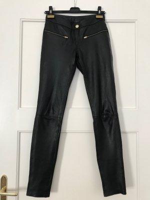 Only Leren broek zwart