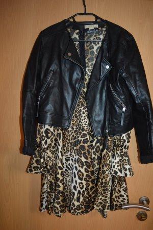 Coole Lederjacke 38 schwarz von H&M