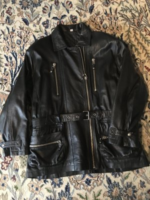 Leather Jacket black leather