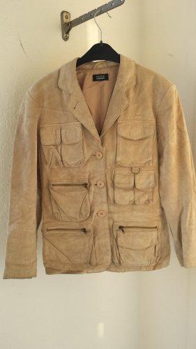 Steffen Schraut Leather Jacket sand brown