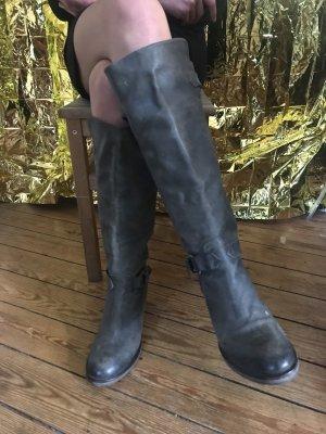 Coole Lederstiefel wie neu und besonders Gr.39