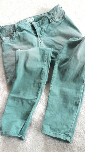 Coole Met Jeans Eyecatcher! Waschung Stretchanteil  *Neu*   petrol   Gr 27     Gr S von Met