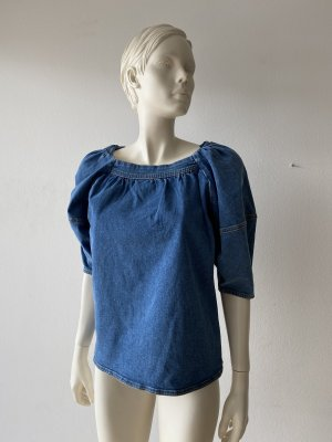 Coole NA-KD Jeans Bluse