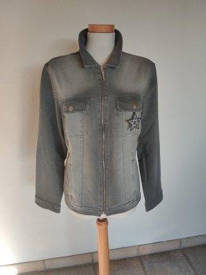 Creation L. Denim Jacket grey-light grey
