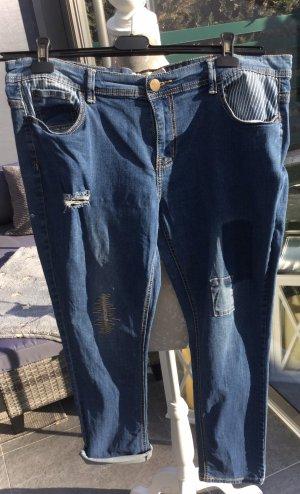 100% Fashion Jeans boyfriend multicolore