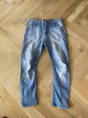 Please Boyfriend jeans azuur