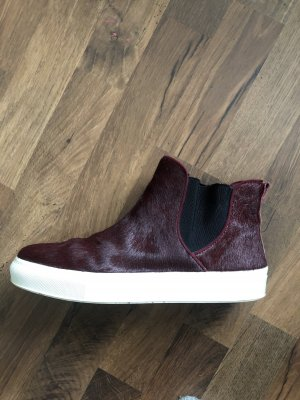 Zara High top sneaker bordeaux