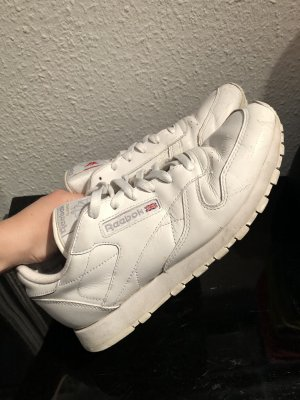 Coole Reebok Classic Schuhe Sneaker Weiß