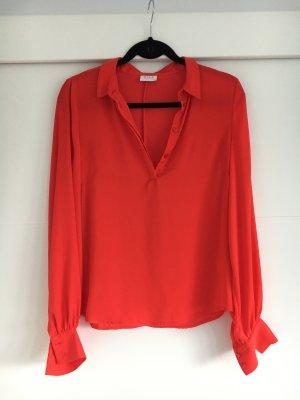 Coole rote Bluse von Vila