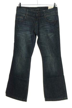 s.Oliver Jeans bootcut bleu coton