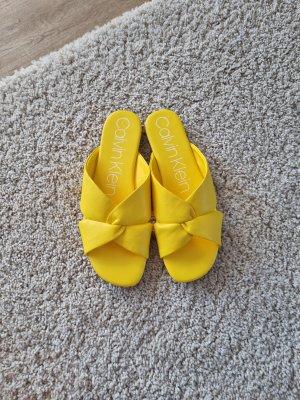 Calvin Klein Bottes fourrées jaune