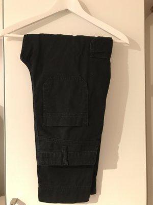 Edited Cargo Pants black cotton