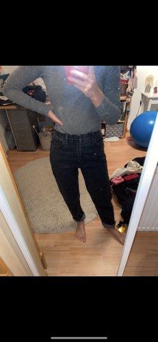 Pull & Bear Jeans boyfriend noir
