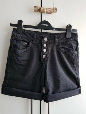 Object Short en jean noir coton