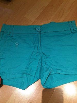 Coole Shorts in türkis von Mango