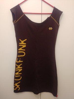 Skunkfunk Tunic Dress dark brown