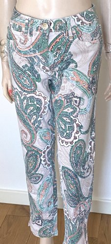 Luisa Cerano 7/8 Length Jeans multicolored cotton
