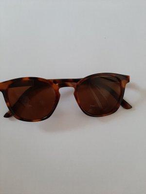 Bijou Brigitte Angular Shaped Sunglasses black-brown