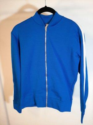 Sportjack blauw-wit