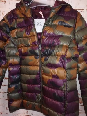 s.Oliver Quilted Jacket multicolored mixture fibre