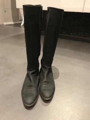 Coole Stiefel Boots Lederstiefel von Strenesse Größe 39