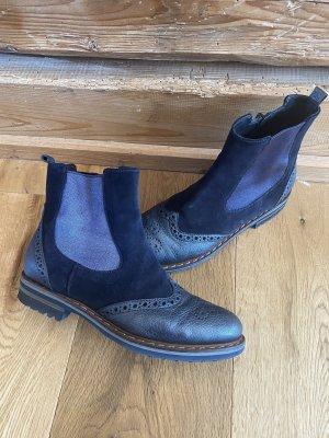Donna Carolina Booties dark blue