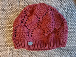 Burton Crochet Cap cognac-coloured