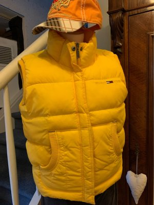 Tommy Hilfiger Denim Quilted Gilet yellow
