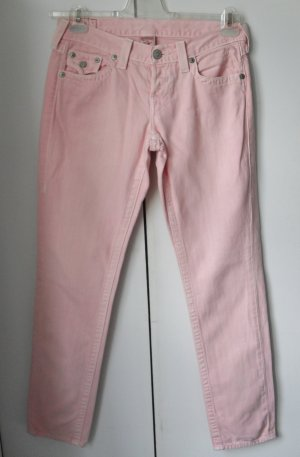 coole True Religion colored Jeans Gr. 26 Rosa Modell: Cameron