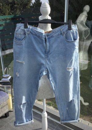 100% Fashion Jeans boyfriend azzurro