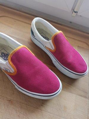 Vans Sneaker slip-on beige chiaro-rosa