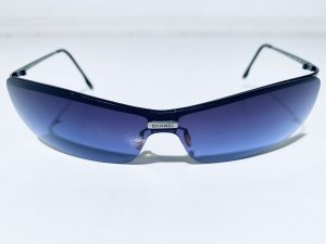 Coole Vintage CHANEL Sonnenbrille Modell 4043 in Blau