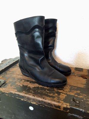 Coole Vintage Stiefel schwarz Gr:39