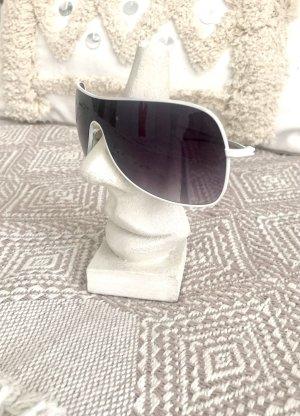 Coole weiße Sonnenbrille super Zustand!