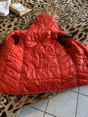 Janina Gilet à capuche rouge