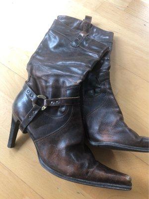 Western Boots black brown-dark brown