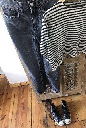 Coole ZARA High Waist Straight Leg Jeans Gr. 34