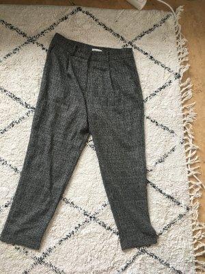 Warehouse Pantalone a 7/8 grigio scuro-antracite Poliestere