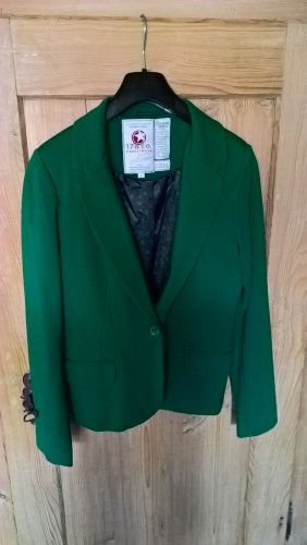 17&co Jersey Blazer green viscose