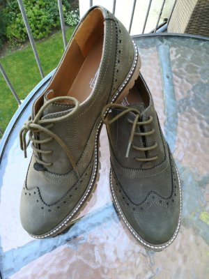5th Avenue Lace Shoes green grey