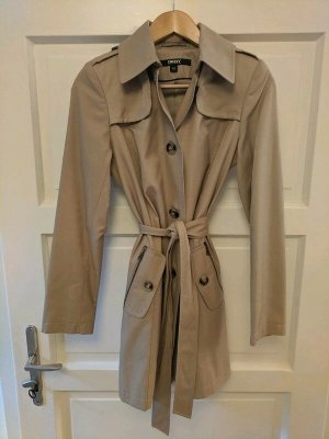 DKNY Trench beige Cotone