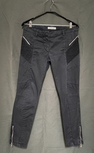 Pierre Balmain Low-Rise Trousers black cotton