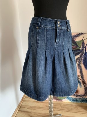 Esprit Denim Skirt steel blue-cornflower blue