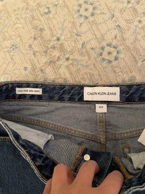Calvin Klein Jeans Jupe en jeans bleu-bleu clair