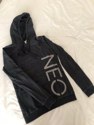 Adidas NEO Pull à capuche gris anthracite