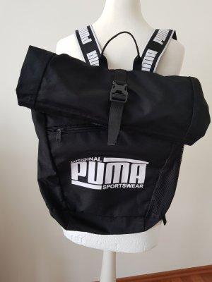 cooler kurrierrucksack von puma schwarz