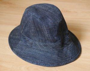Tally Weijl Bucket Hat blue-dark blue cotton