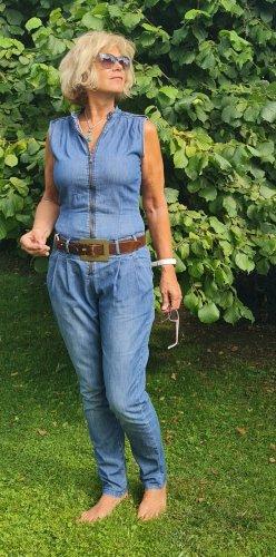 Cooler leichter Jeansoverall von Strenesse Größe 38