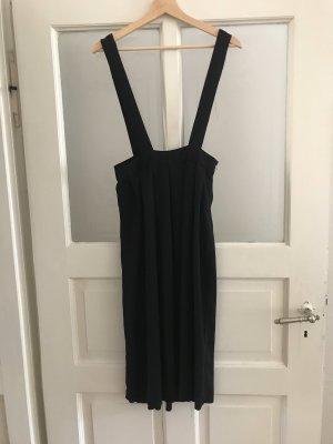 Zara Pinafore Overall Skirt black